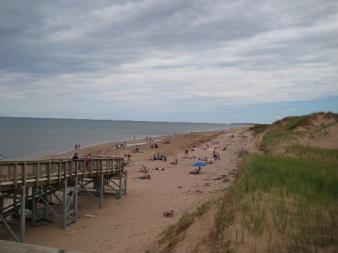 Prince Edward Island National Park's Brackley Beach