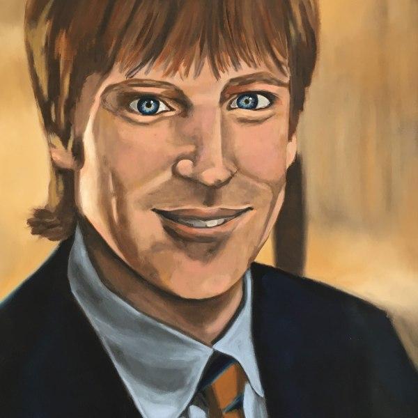 Painting of Stuart Baker